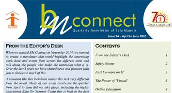 BM Connect Edition 24 April 2020 to June 2020